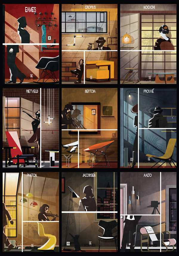 Archidesign Series by Federico Babina