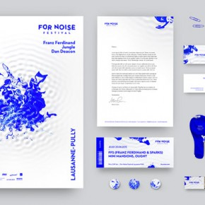 For Noise Music Festival Identity Design by Alexandre Pietra