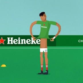 Heineken - UEFA Champions League Animation by PlusOne