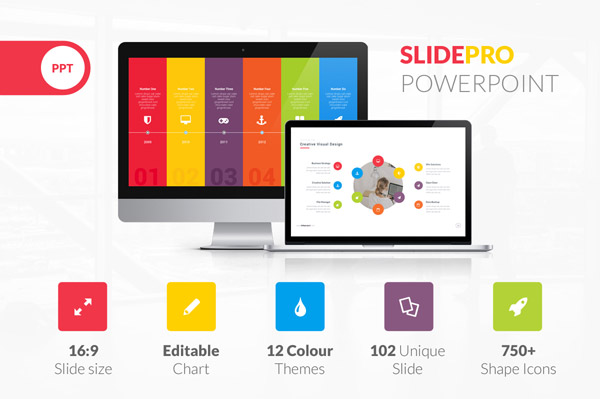 Slide Pro Powerpoint Presentation Template