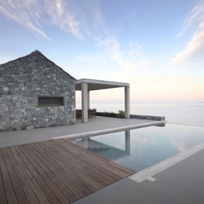Villa Melana, a Modern House in Greece with Great Sea Views