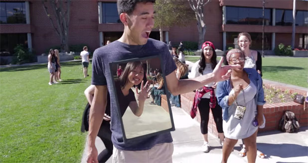 Vine Star, Zach King teamed up with Action Cam by Sony to continue Sony's 'Never Before Seen' film series.