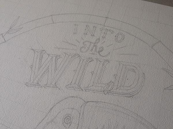 Into The Wild – Illustration by Xavier Casalta
