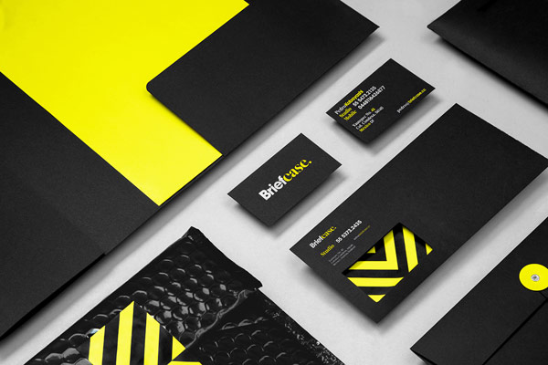 Briefcase - branding and stationery design by Anagrama.