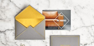 Envelopes and postcard.
