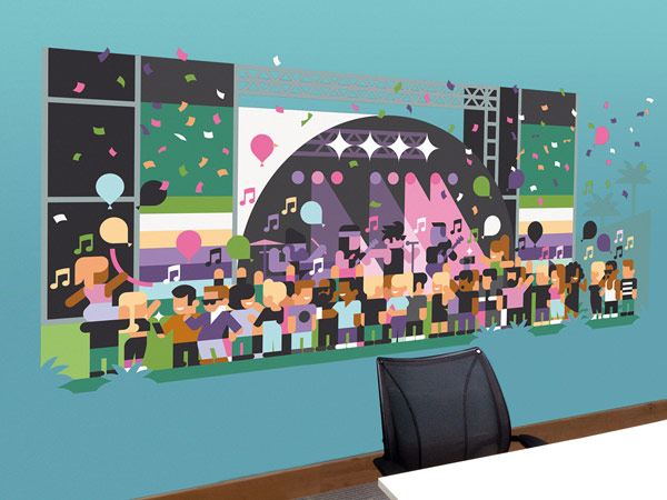 Three offices – Illustrations by Hey Studio