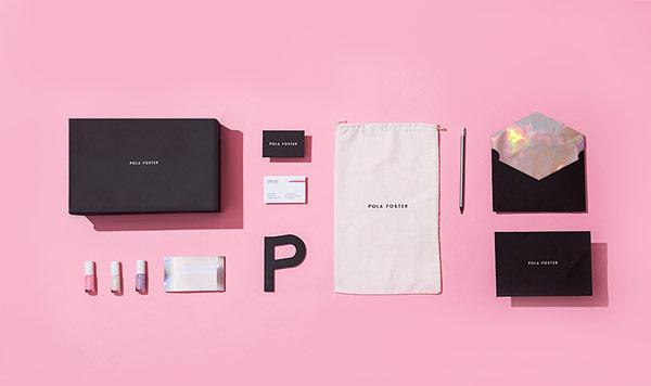 Pola Foster brand identity design by studio Futura.