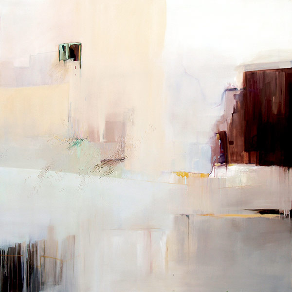 Abstract paintings by joanna pieczy ska for Minimalist art pieces