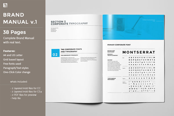 Brand Manual Template – It Manual Templates to Download