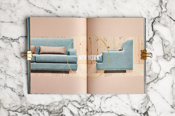 A view inside the furniture catalog.