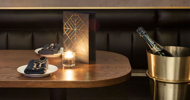 Mosquito, a champagne and dessert bar with classic ambience.