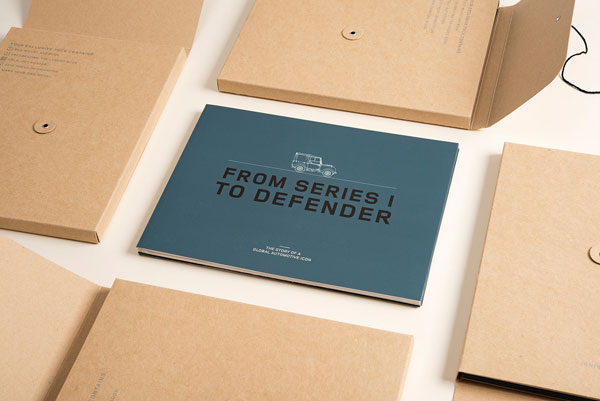 Packaging and brochure design.