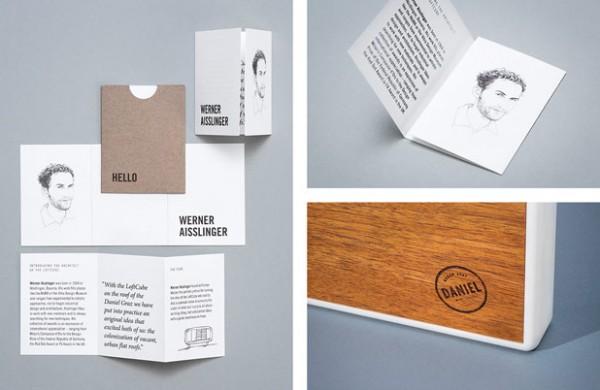 Loft Cube Hotel Daniel Mailing By Moodley Brand Identity