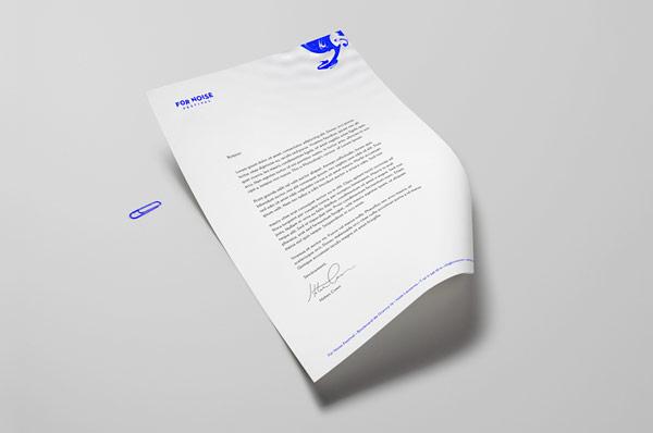 Stationery design.