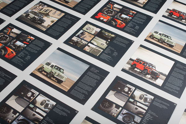 Some visuals created as tribute to the Land Rover Defender.