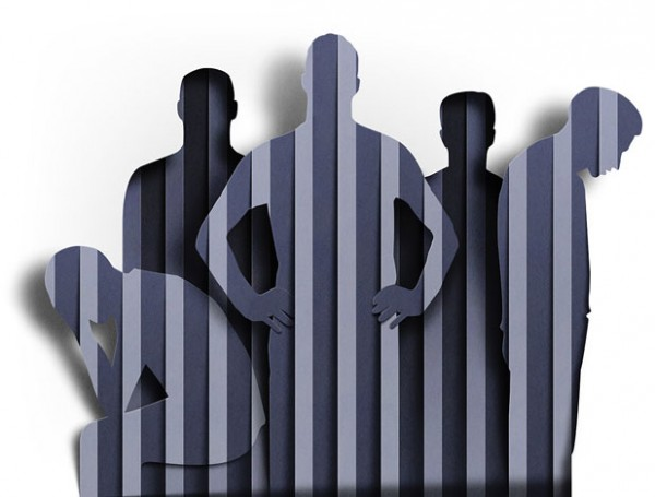 Artwork created for New York Times on the topic of overcrowded prisons.