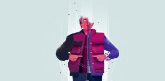 Back To The Future illustrations by Maïté Franchi for Focus Magazine.