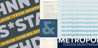 Chronica Pro font family from foundry Mostardesign.
