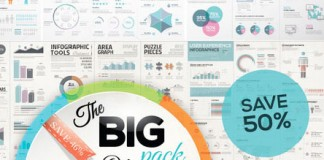 Infographic template mega bundle.