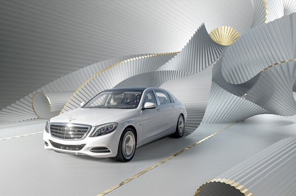 Mercedes Benz Maybach s600 - Bloomberg Pursuits - SPEND issue.