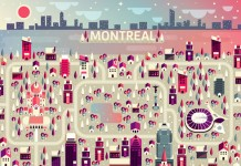 Montreal from the Cosmópolis illustrations part 3 by Aldo Crusher.