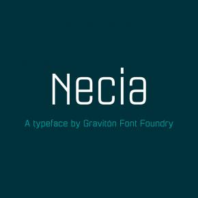 Necia Font Family from Graviton