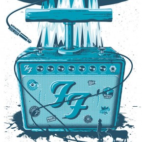 Music Poster Illustrations by Mariano Arcamone
