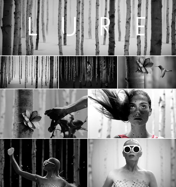 "Some visuals from the short film ""Lure"", which was directed by Studioset for fashion designer Ioana Ciolacu."