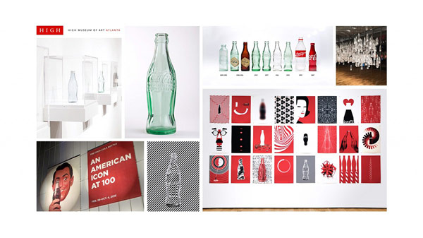 The Coca-Cola Bottle An American Icon at 100 — Exhibition artworks designed by different international designers, artists, illustrators, and creative studios.