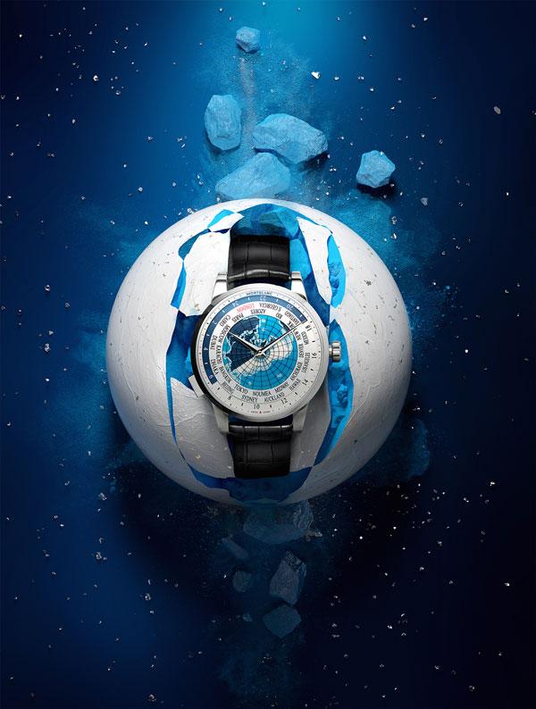 The Watch - The Montblanc Heritage Spirit Orbis Terrarum.