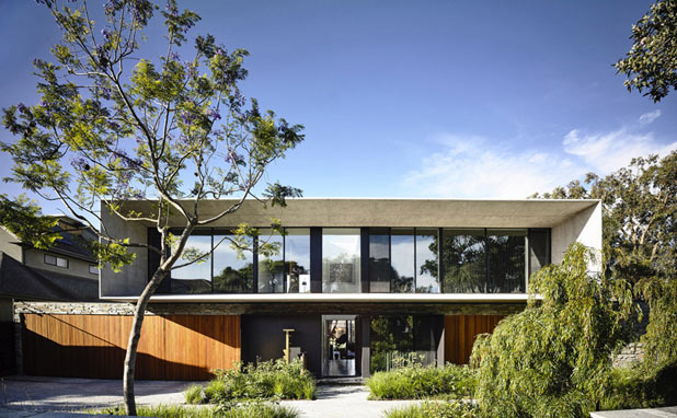 A house in Melbourne by Matt Gibson Architecture.