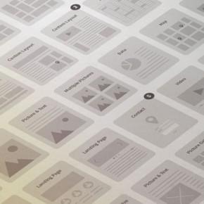 Website Wireframe KIT for Illustrator
