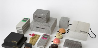 Bibelot visual identity and packaging design by Melbourne based studio A Friend Of Mine.