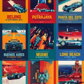 FIA Formula E Championship Posters