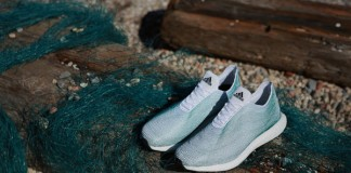 Innovative footwear made from sustainable materials, a concept by adidas and Parley for the Oceans.