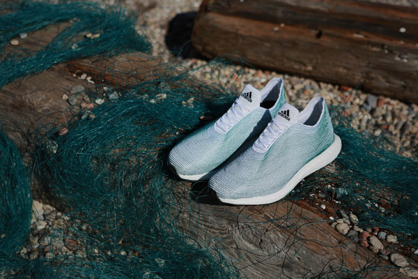 Adidas Shoes Made of Ocean Waste