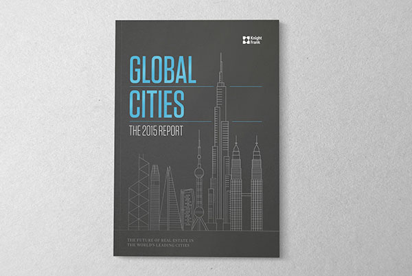 Knight Frank - Global Cities Report for 2015 developed by The Design Surgery in collaboration with Raconteur.