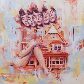 'No Place Like Home' - Paintings by Artist Sam Octigan