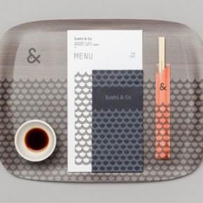 Sushi & Co. Brand Identity Design by Studio Bond
