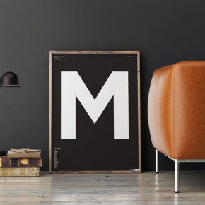Type of Letters - Minimalist Typographic Posters