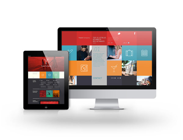 A responsive website that looks great on any device.