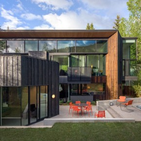 Blackbird House in Aspen, Colorado
