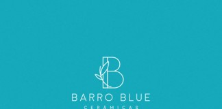 Barro Blue ceramics - logo design.