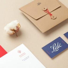 Lale - Organic Fashion Brand Design by Studio Menta