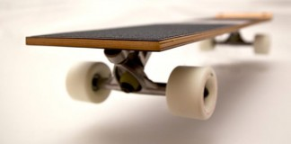 Emil Boards, a minimalist custom design skateboard.