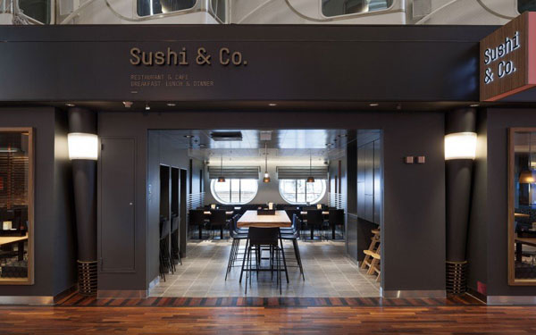 Sushi & Co. Brand Identity Design by Studio Bond