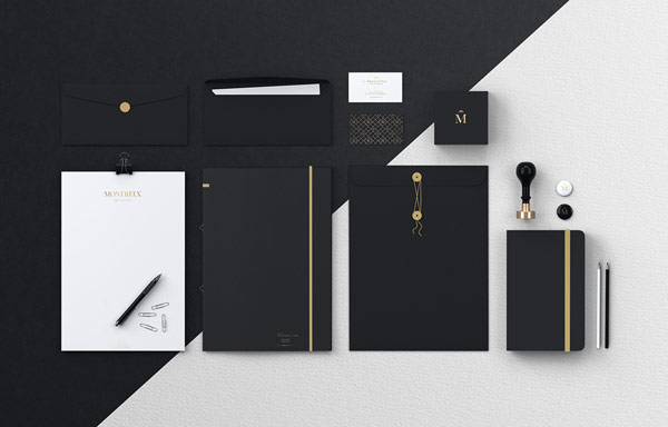 The luxury stationery design by Alexandre Pietra and David Massara.