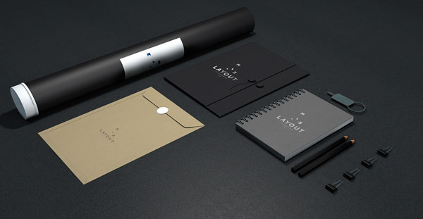 Some branding materials and stationery.