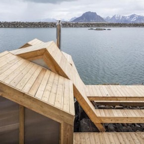 Seaside Sauna in Norway by SCS