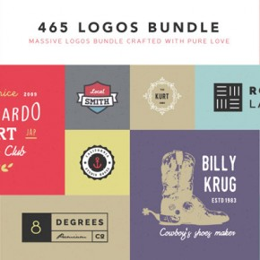Download 465 Logos for only $17